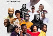 Photo of December 7 Elections: Let's Preserve The Peace In Ghana – Yaw Sapong And Asomafo, Other Top Musicians Tells Ghanaians In A New Song