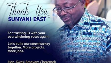 Photo of Sunyani East MP, Kwasi Ameyaw-Cheremeh Breaks His Silence After 2020 Elections Victory