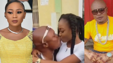 Photo of Attention Seekers-Bukom Banku And Akuapem Poloo Spotted Kissing In New Video (Watch)