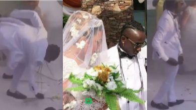 Photo of It's Normal To Pick Cash Splashed On Me At My Wedding Ceremony – Patapaa