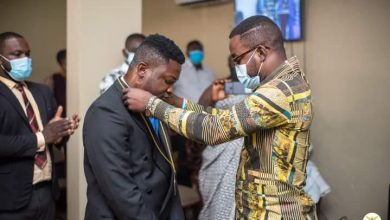Photo of Gospel Musician, Paa Boateng Ordained As A Pastor (Photos)