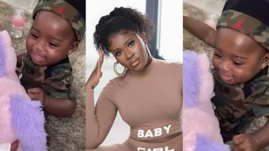 Photo of Fella Makafui Shares A Cute Video Of Her Baby Girl, Island