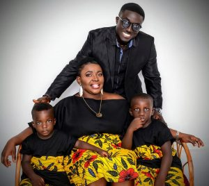 Aboatea Kwasi and his family