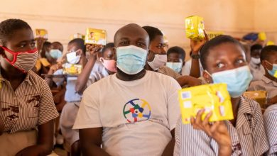 Photo of 700 Female Adolescents Receives Free Sanitary Pads Through Bra Dea Foundation's 'Her First Period' Project So Far