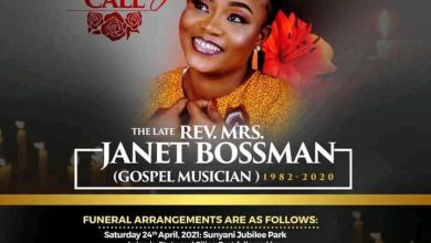 Photo of New Date Announced For Janet Bossman's Funeral Rites