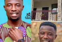 Photo of Kwaku Manu Builds A Beautiful House For His Parents (+Video)