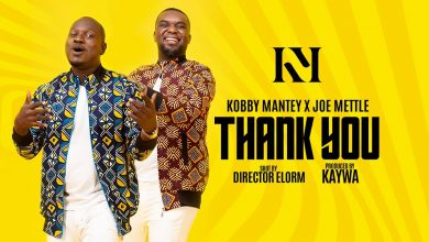 Photo of Kobby Mantey Joins Forces With Joe Mettle To Unleash 'Thank You' – Watch Video