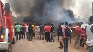 Photo of Three Feared Dead After Fuel Tanker Explosion At Onyinanufo In Ashanti Region; Several People Rendered Homeless