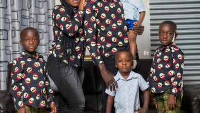 Photo of Lilwin Shares Adorable Photo With His New Wife And Kids