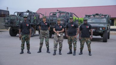 Photo of Mama Taxi TV Series Team Visits The Military