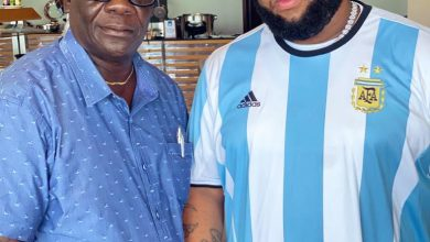 """Photo of """"Now I'm Happy"""" – Says D-Black After Meeting Castro's Dad"""