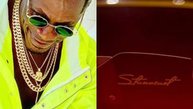 Photo of Photos: Shatta Wale Brags About His Customized Vehicle – Check What He Said