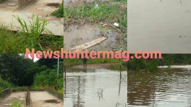 Photo of A Section Of Residents In Sunyani West Cry For Help As Flood Deteriorate Road Network (+Video)