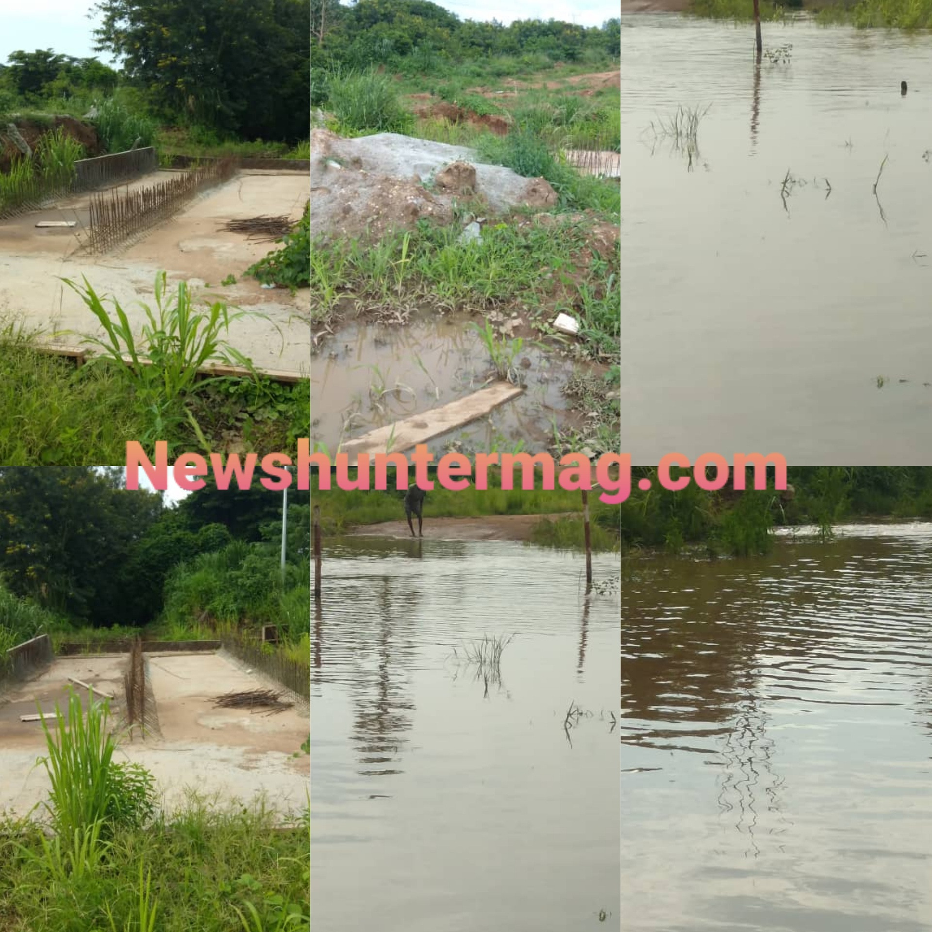 Residents cry over bad road network in Sunyani West