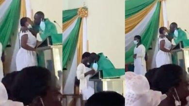 """Photo of """"I Did Not Think My Behaviour Through"""" – Anglican Priest Begs For Forgiveness After Kissing Female Students At St. Monica's College Of Education"""
